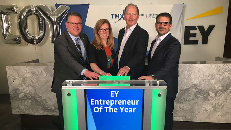 Kristi Cawthorn & EY Entrepreneurs Of The Year open the Market