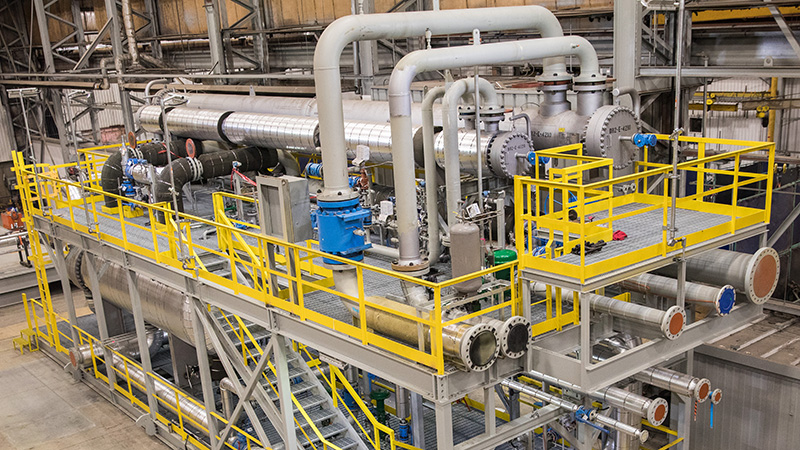 Gas Processing Facility (100 MMSCFD Mechanical Refrigeration Unit)