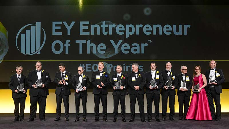 Startec President Wins 2016 EY Entrepreneur of the Year Award